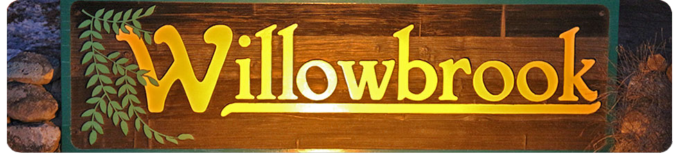 Willowbrook HOA sign